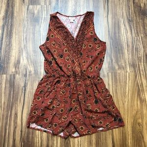 Mossimo Sunflower Burnt Orange Bodysuit